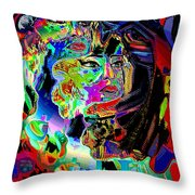 Prey Throw Pillow by Natalie Holland