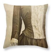 Prim And Proper Throw Pillow by Amy Weiss
