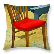 Primary Colors Throw Pillow by Lauren Leigh Hunter Fine Art Photography