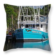 Prince of Peace Throw Pillow by Michael Thomas