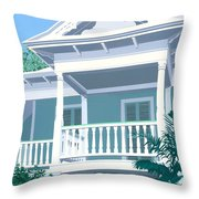 Prince Town Throw Pillow by David Holmes