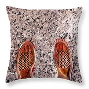 Prints of Greatness Throw Pillow by Benjamin Yeager