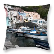 Procida Throw Pillow by Marion Galt
