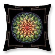 Prosperity Throw Pillow by Keiko Katsuta
