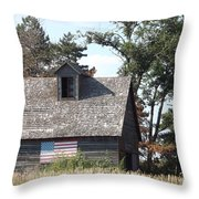 Proudly She Stands Throw Pillow by Caryl J Bohn