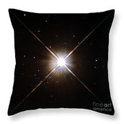 Proxima Centauri Throw Pillow by Science Source