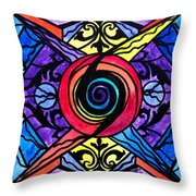 Psychic Throw Pillow by Teal Eye  Print Store