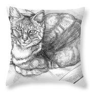 Puff Throw Pillow by Shana Rowe Jackson