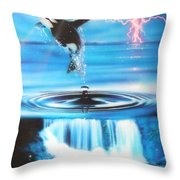 'pure Water Systems' Throw Pillow by Christian Chapman Art