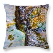 Purl Of A Brook 2 - Featured 3 Throw Pillow by Alexander Senin