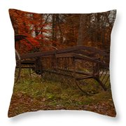 Purpose Served Throw Pillow by Jack Zulli