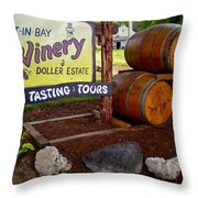 Put In Bay Throw Pillow by Frozen in Time Fine Art Photography