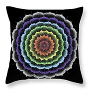 Quan Yin's Healing Throw Pillow by Keiko Katsuta
