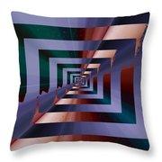 Quantum Conundrum Throw Pillow by Tim Allen
