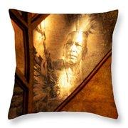 Quapaw Pride Throw Pillow by Deena Stoddard