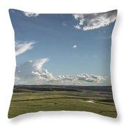 Quiet Prairie Throw Pillow by Jon Glaser