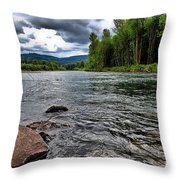 Quiet Whispers Throw Pillow by Charles Dobbs