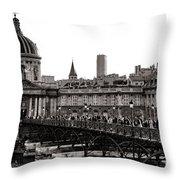 Quintessential Paris Throw Pillow by Olivier Le Queinec