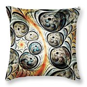 Quorum Sense Throw Pillow by Anastasiya Malakhova