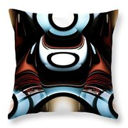 Racer Throw Pillow by Anastasiya Malakhova