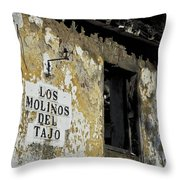 Ramshackled Los Molinos Throw Pillow by Heiko Koehrer-Wagner