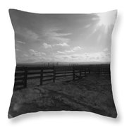 Rancho Colorado Throw Pillow by Anna Villarreal Garbis