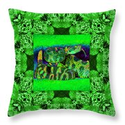 Rattlesnake Abstract Window 20130204p75 Throw Pillow by Wingsdomain Art and Photography