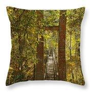 Ravine Gardens State Park In Palatka Fl Throw Pillow by Christine Till