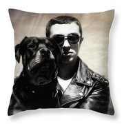 Rays Of Hope Best Friends Throw Pillow by Jacque The Muse Photography