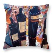 Raymond Vineyards Crystal Cellar Throw Pillow by Donna Tuten