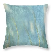 Reaching For The Sky Throw Pillow by Gary Slawsky