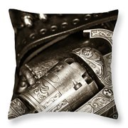 Ready for Action Throw Pillow by John Rizzuto