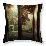 Rear Window Throw Pillow by Taylan Soyturk
