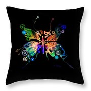 Rebirth Throw Pillow by Fran Riley