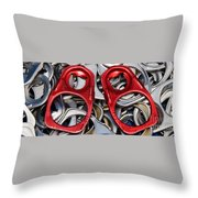 Recycled Love Throw Pillow by Andee Design
