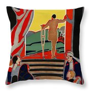 Red Cross Poster, 1919 Throw Pillow by Granger