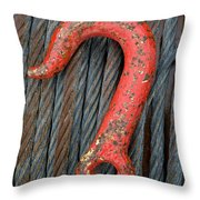 Red Hook Throw Pillow by John Shaw