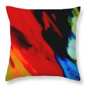 Red Hot Fiesta Throw Pillow by Ann Powell
