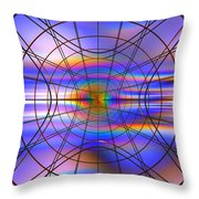Reentry At Dusk Throw Pillow by Andreas Thust