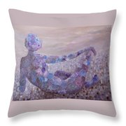 Reflecting Throw Pillow by Joanne Smoley