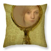 Reflection Throw Pillow by Amanda Elwell