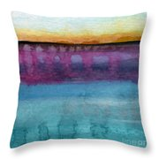 Reflection Throw Pillow by Linda Woods
