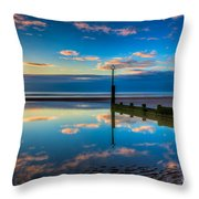 Reflections Throw Pillow by Adrian Evans