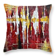 Reflections Iv Throw Pillow by Dan Earle