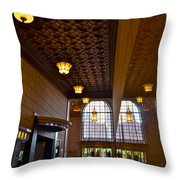 Reflections Throw Pillow by Frozen in Time Fine Art Photography