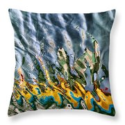 Reflections Throw Pillow by Stelios Kleanthous
