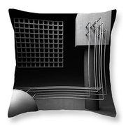 Rehab Throw Pillow by Richard Rizzo