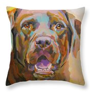 Reilly Throw Pillow by Kimberly Santini