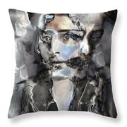 Reincarnation Throw Pillow by Ursula Freer
