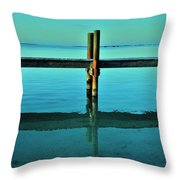 Relax Throw Pillow by Benjamin Yeager